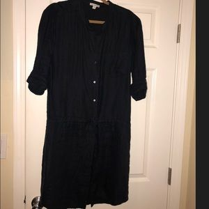 James Perse Navy Blue Dress